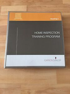 Carson Dunlop Home Inspection Training Program Textbooks (3)