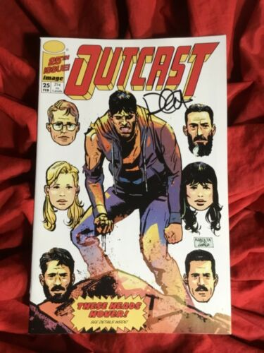 OUTCAST #25~BRIGADE HOMAGE VARIANT~ROBERT KIRKMAN STORY~SIGNED BY PAUL AZACETA~