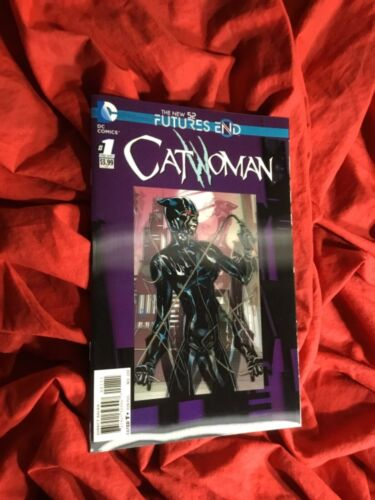 CATWOMAN FUTURES END #1~LENTICULAR 3-D VARIANT~DC COMICS BOOK~1st PRINT~BATMAN~