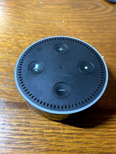 Amazon Echo DOT 2nd Generation Smart Speaker Alexa - BLACK PARTS ONLY AS-IS - $8.50