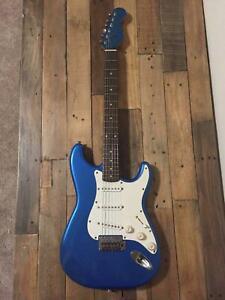 Lake Placid Blue Partscaster Strat Electric Guitar