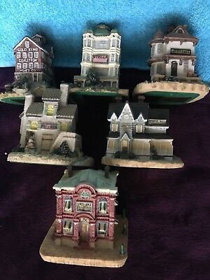 Liberty Falls 1993, 7 piece collection, decorative collectibles