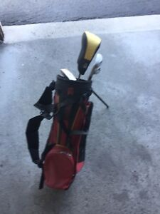 Kids age 5-7 left handed Nike golf clubs