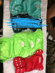 Size 1 cloth diapers