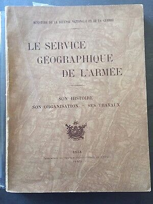The geographic service of the'Army- Its history, organization and work 1938