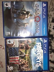 God of war and Farcry 5