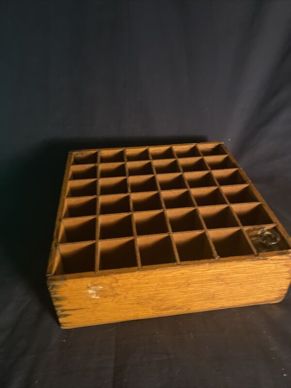 Antique Apothecary Bottle Crate