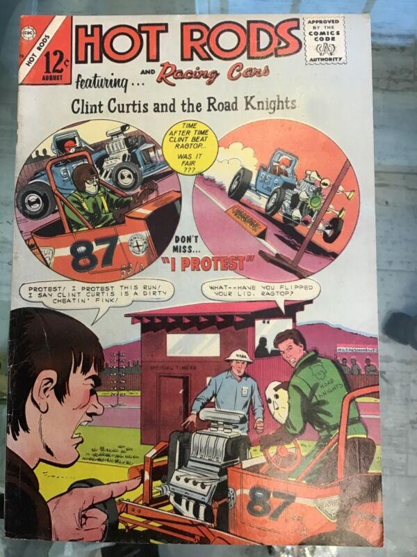 Hot Rods And Racing Cars. #75. August 1975. Very Good/Fine