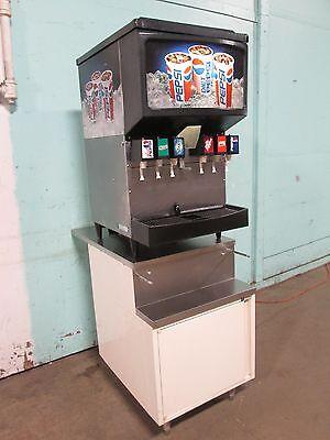 Cornelius 2230akg H.d Commercial Lighted 6 Heads Soda Dispenser Wcabinet