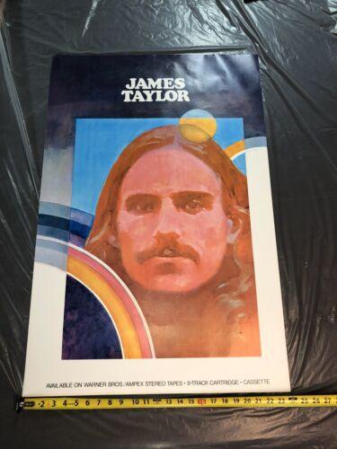 James Taylor Promo Poster NEVER FOLDED - $89.00