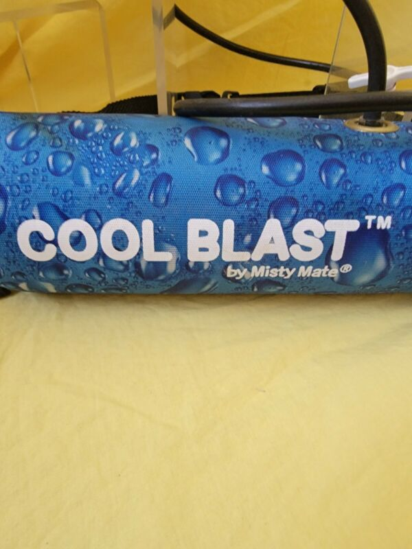 Vintage Misty Mate Cool Blast Personal Water Mister For Hiking-Running-Walking