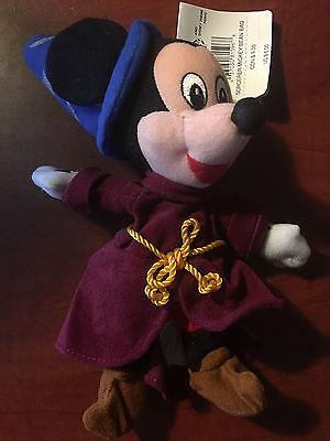 Toys & Hobbies The Disney Store Sorcerer Mickey Mouse Mini Bean Bag-beanie Beanbag Plush