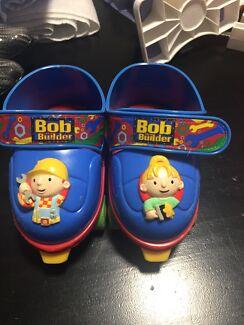 Grow with me 1,2,3 Childrens adjustable skates - Bob the Builder