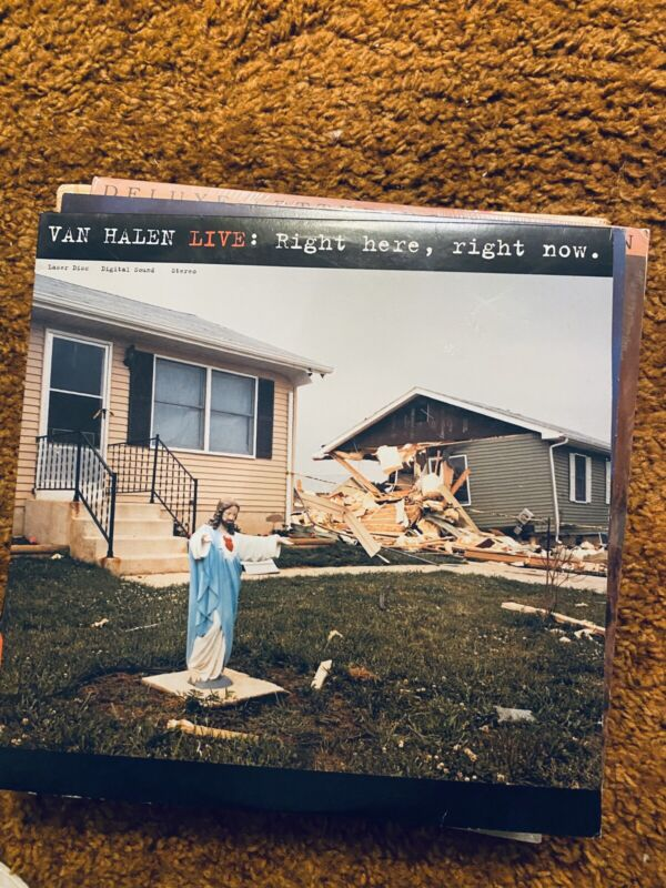 Van Halen - Live Right Here Right Now - LASER DISC -