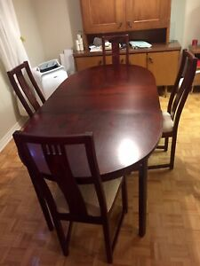 Dining Table Set - including 4 chairs