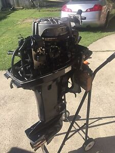 30hp Tohatsu outboard motor, short shaft Hope Island Gold Coast North Preview