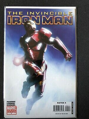 Marvel Comics The Invincible Iron Man #4 Variant Good Condition
