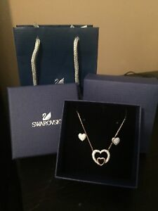 Swarovski earrings and necklace set