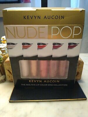 The Color Rose Gold (Kevyn Aucoin The Molten Lip Color Mini 5 PC Nude Pop  tori dolly rose gold)