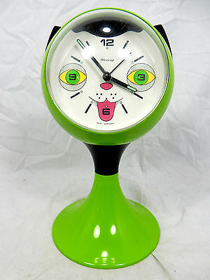 "70´s BLESSING "" cat  "" design alarm clock / schöner Wecker in "" Katzen "" Design"