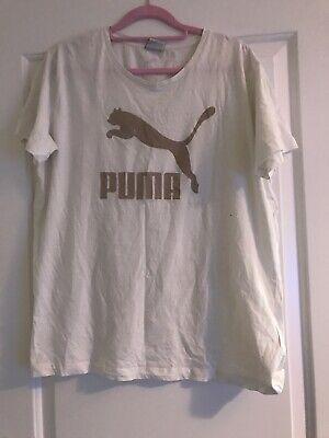 Womens Puma Tshirt Size 14