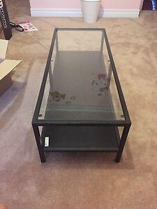 Tv Bench, coffee table.  Ikea vittsjo