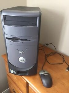 Pc with screen.