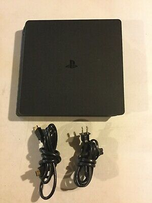 Sony PlayStation 4 Slim 500GB Gaming Console - Black With Power & HDMI Cable