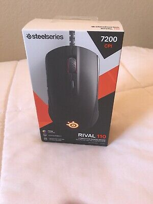 SteelSeries Rival 110 Gaming Mouse - 7200 CPI