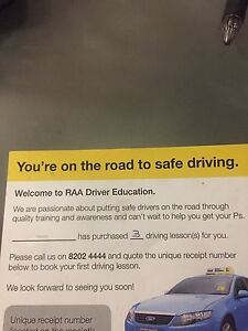 3 driving lessons Tea Tree Gully Tea Tree Gully Area Preview