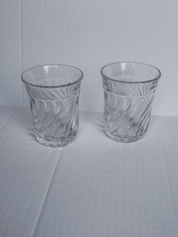 "Fostoria Colony Flat 4"" Water/Iced Tea Tumblers - Set of 2"