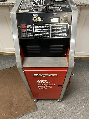 Snap On Refrigerant Recovery System Act3000 A-x