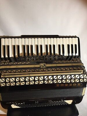 Used Hohner Atlantic lllP 120 bass made in Germany
