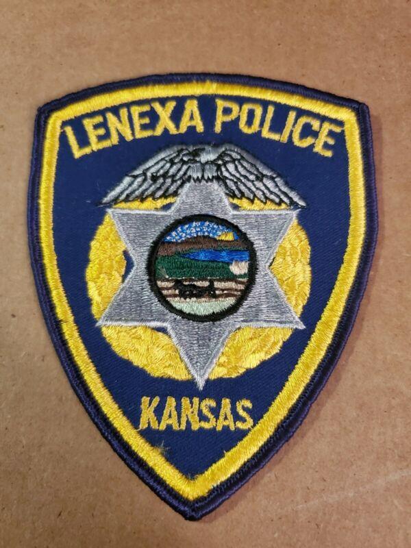 Lenexa Kansas Police Shoulder Patch OBSOLETE