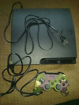 Sony PS3 60GB Backward Compatible (CECH-A01)  with hookups and one controler