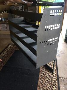 Caddy shelving for van Tawonga South Alpine Area Preview
