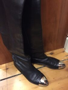 Size 11 or 41 authentic Chanel knee high boots like new