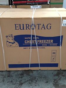 Eurotag 300 ltr chest freezer- Brand new - Lockable! Melbourne CBD Melbourne City Preview
