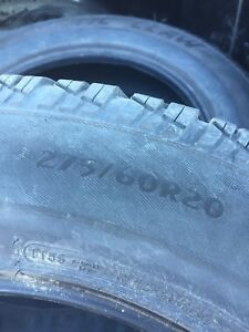200 obo Four arctic claw winter tires 275/60R20/ 13 ram 1500
