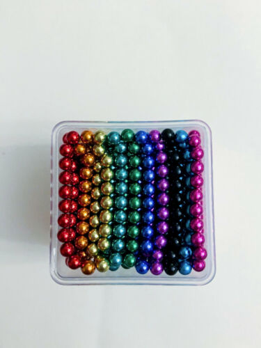 1000 Colorful Magnets 3mm small magneti balls, Ships from US