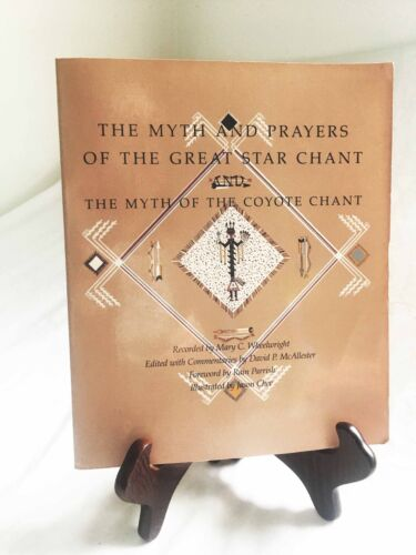 The Great Star Chant & the Myth of the Coyote Chant—Nice 1988 Navajo Paperback
