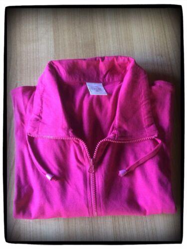 Pinke Damenweste - Leichte Sommer-Weste Damenbekleidung Gr. XL 100% Baumwolle