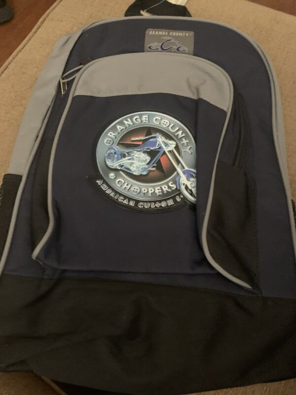 Orange County Choppers Backpack American Custom Steel NWOT
