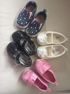 Baby girl shoes sizes 2&3