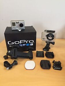 Go pro with case and accessories