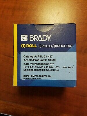 Brady Bmp61bmp71 M611 Tls Pclink Self-laminating Vinyl Wire And Cable Labels
