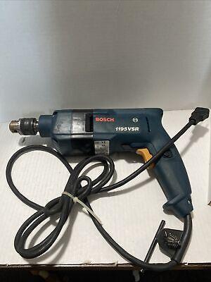 Bosch 1195vsr Hammer Drill 115v 38 2500 Rpm Made In Switzerland
