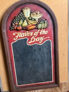 """""""Flavor of the day """" blackboard. *Reduced*"""
