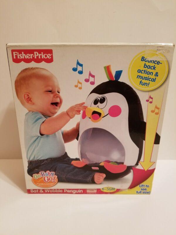 Fisher Price Go Baby Go Bat & Wobble Penguin