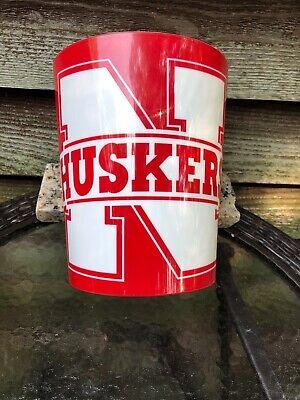 Nebraska Huskers Tailgate - University Of Nebraska Cornhusker Tailgate Trash Can-Go Husker Nation!